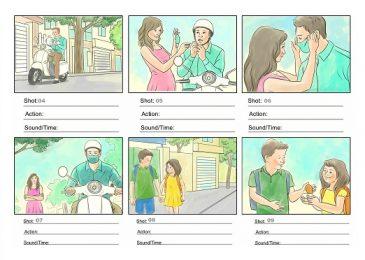 """Storyboard thật """"key"""" trong Quảng cáo & Nghiên cứu thị trường"""